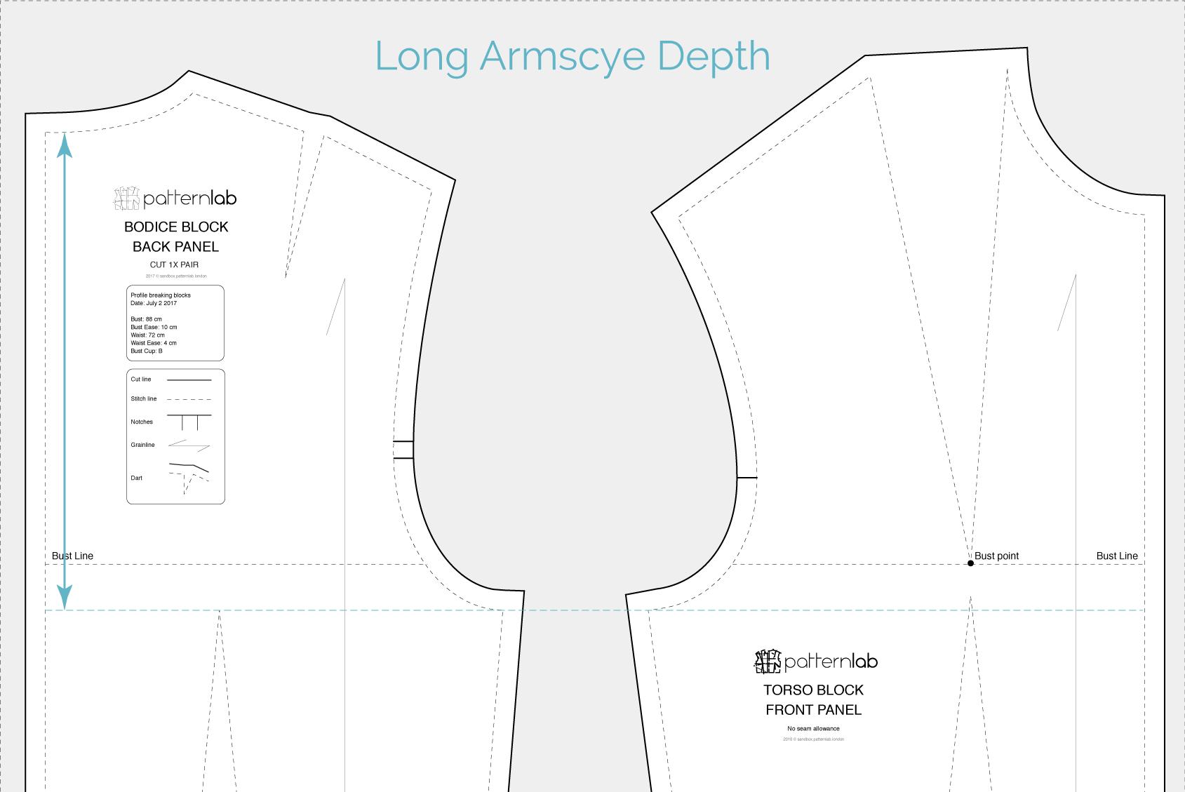 Ill-fitting basic torso block - Patternlab