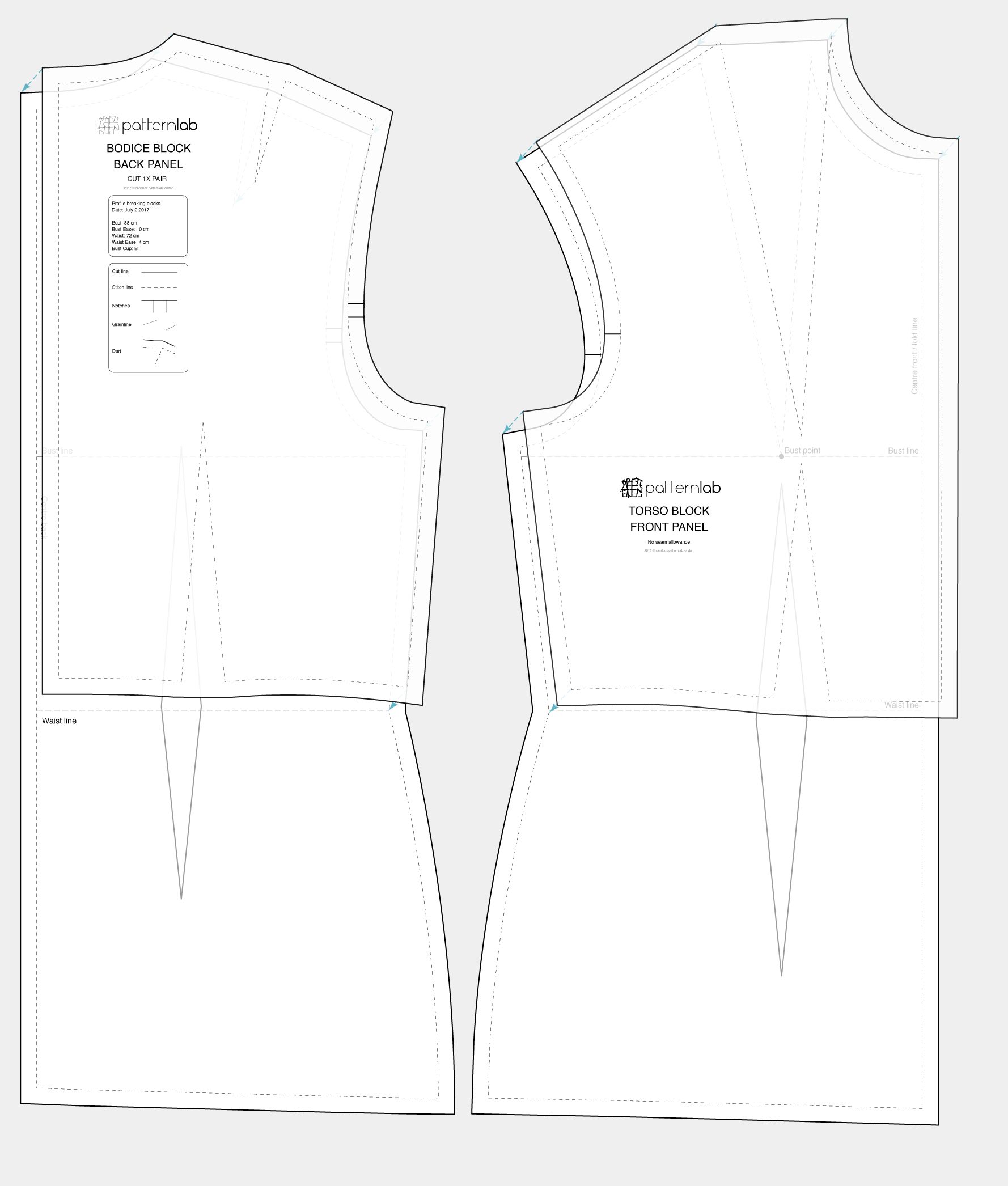 basic torso block