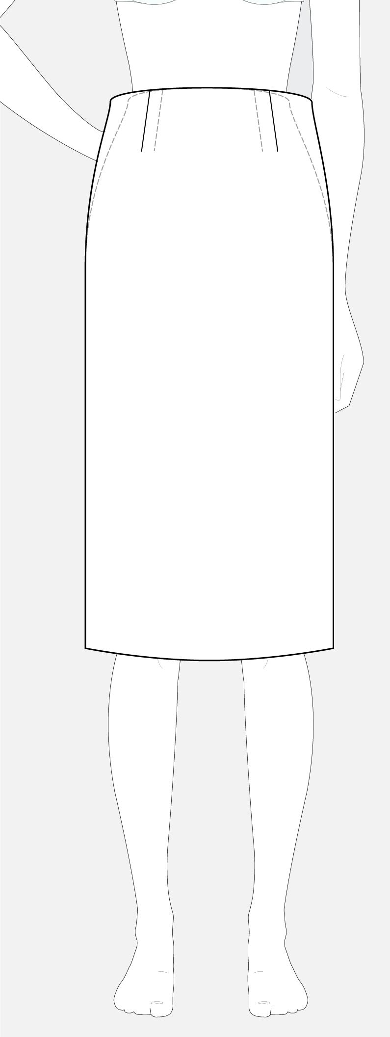 ill-fitting basic skirt block - Patternlab