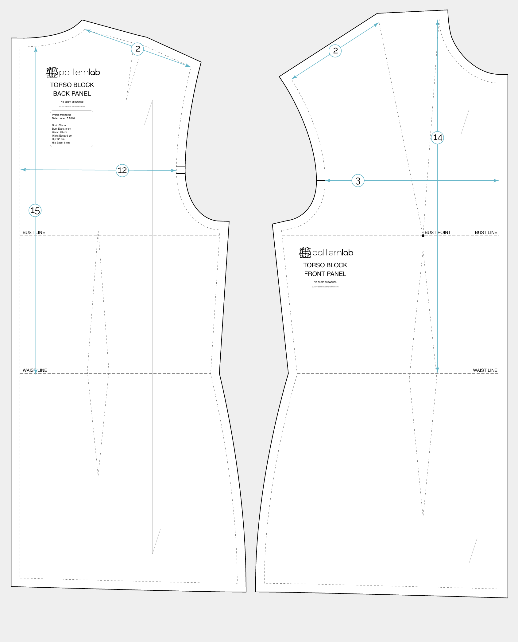 Basic torso block - Patternlab