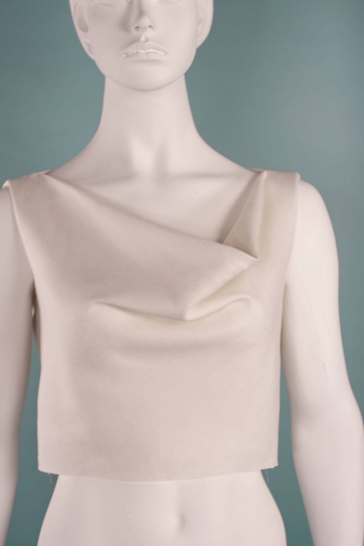 Cowl neck front