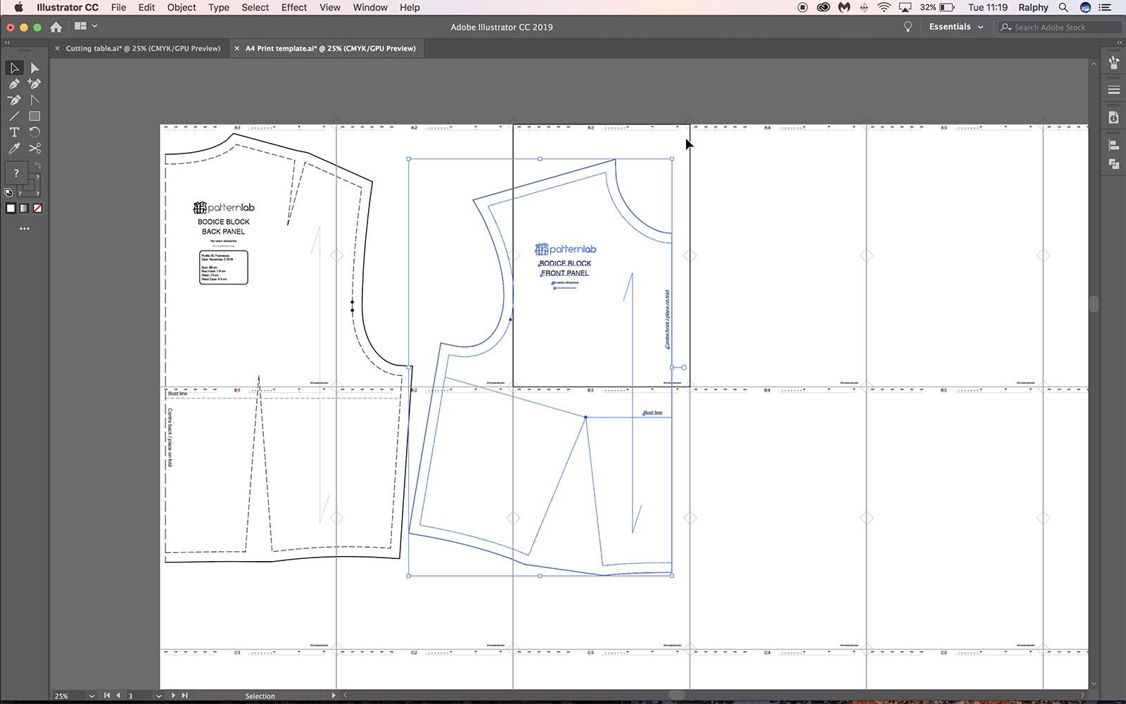 Create Pdf Sewing Patterns Free Digital Pattern Making Tutorials