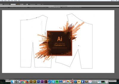 Learn digital pattern cutting in Adobe Illustrator