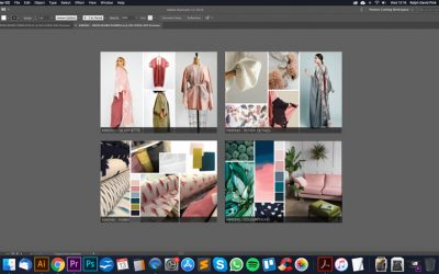 S1. EP2 – Creating fashion mood boards in Adobe Illustrator