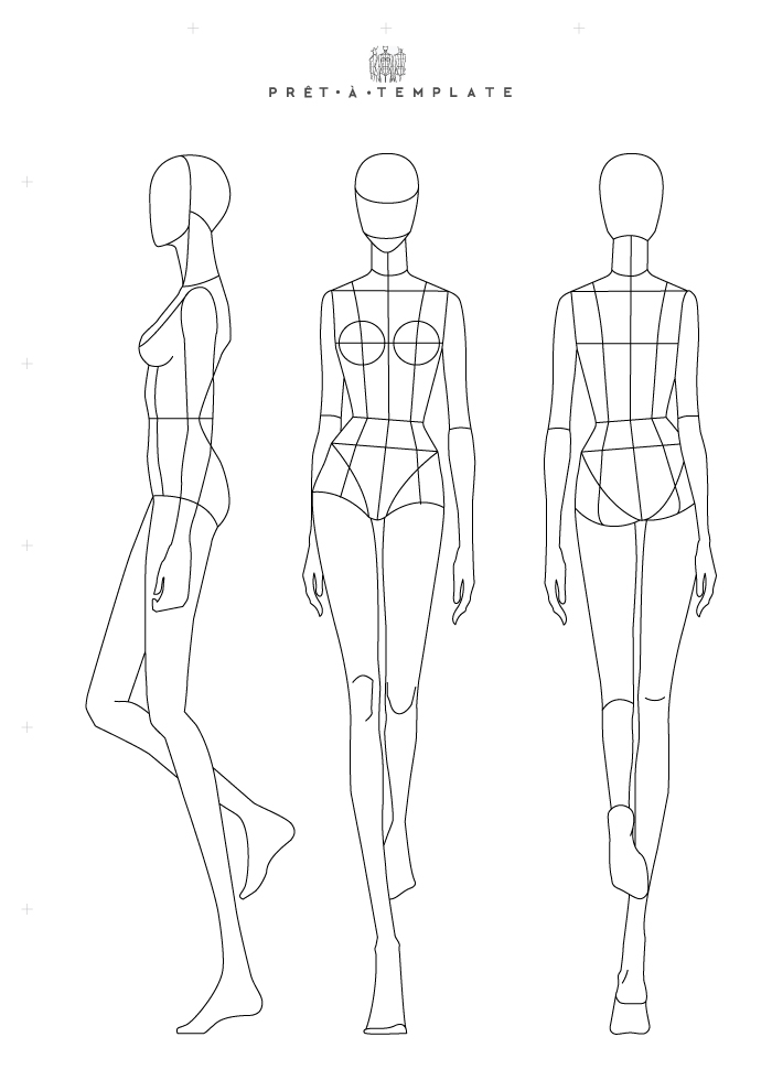 S1 Ep3 Fashion Design Process Using Fashion Templates