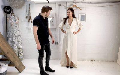 S1. EP8. The Final Toile of Francesca's Indigo Robe