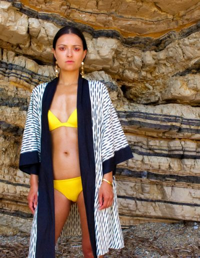 Francesca elise bikini cover-up photoshoot by patternlab