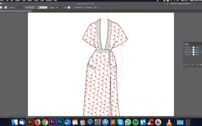 S1. EP4. Digital fashion illustration in Adobe Illustrator