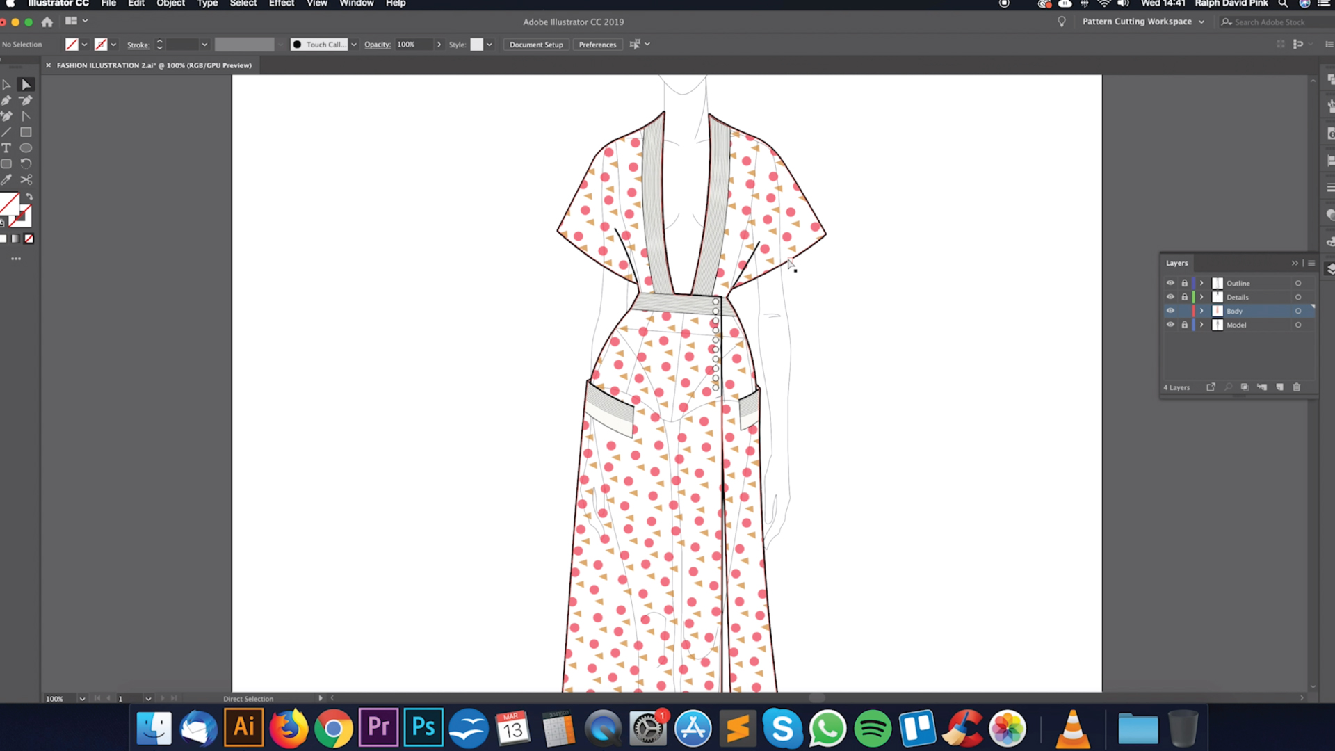 digital fashion illustration patternlab