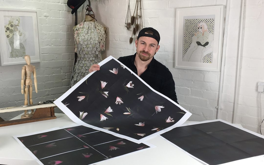 S1. EP6. Creating textile prints for fashion design