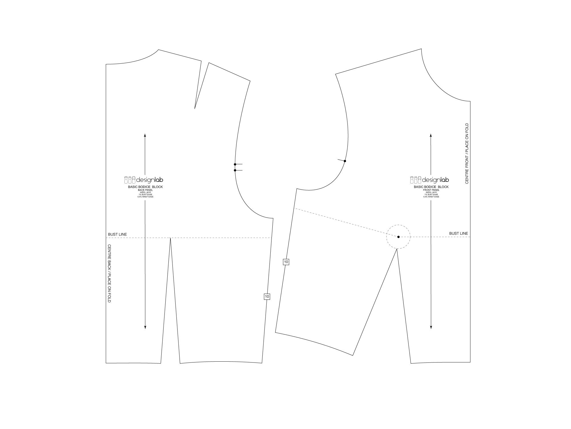 lantern sleeve pattern making tutorial by patternlab